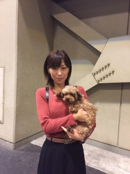 ソラ トイプードル 2016.10.8卒業.JPG