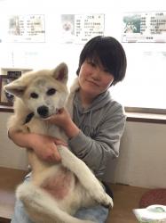 千太郎 秋田犬.JPG